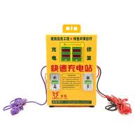家用电动车快速充电站投币式电瓶车智能充电器2路小区充电桩便民