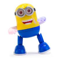 小黄人电动音乐发光会走路唱歌跳舞机器人宝宝男女小孩婴儿童玩具 抖音 超长7首歌曲版