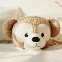 达菲熊抱枕被子个性两用长耳兔子抱枕多功能可爱纯棉女生 被子二合一