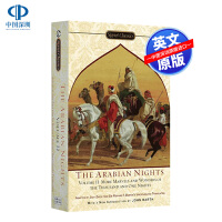 英文原版 一千零一夜 The Arabian Nights 天方夜谭 第2卷 阿拉伯民间故事集 全英文版 国外进口英语书