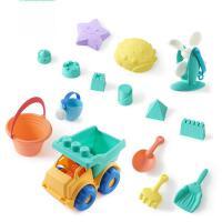 宝宝沙滩玩具套装儿童玩沙子铲子1-3岁决明子沙滩洗澡工具抖音