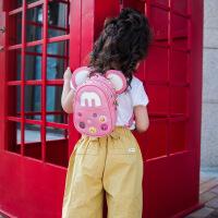 Hug Bear韩版小孩双肩出游儿童背包男女幼儿园米奇宝宝旅行1-3-4岁斜挎包潮