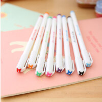 韩国慕娜美208中性笔 慕那美彩色水性笔勾线笔针管笔草图笔0.4mm