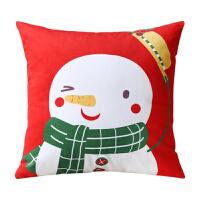 圣诞节抱枕创意卡通沙发装饰靠枕靠垫办公室靠背枕女生礼物小礼品