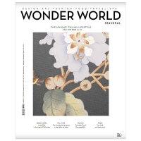 进口原版年刊订阅 wonder world seasonal 旅行生活杂志 意大利意大利文/英文原版 年订4期
