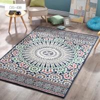 地毯客厅美式茶几地毯现代简约北欧地毯可机洗毯卧室地毯满铺家用 DS-438