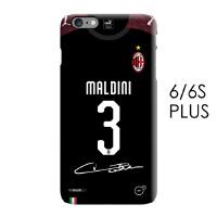 201819年AC米兰第二客场球衣iphone7 8 X 6 6s plus手机壳伊瓜因 I6/6S plus-3号马