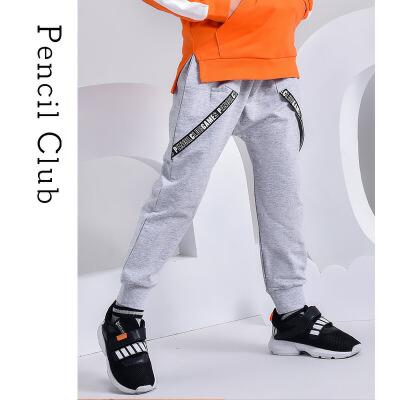【3件2折:41.8】铅笔俱乐部童装2020春装新款男童长裤中大童休闲裤子