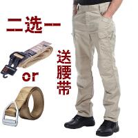 春秋战术裤男军迷特种兵修身户外防水多口袋作训工装裤