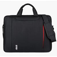 电脑包笔记本14寸15寸商务防震男女15.6英寸单肩手提