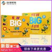 培生朗文 新版Big Fun 2级别学生书 朗文幼儿英语教材 美语旗舰课程 启蒙英语 CLIL教学法 正版现货包邮