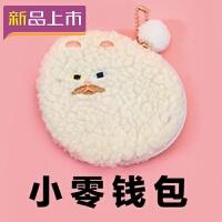 2018猫咪零钱包女布艺迷你随身可爱小钱包硬币包卡包韩国背包挂饰挂件