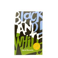 现货 英文原版绘本 Black and White 黑与白 凯迪克大奖金奖绘本 David Macaulay 大卫麦考