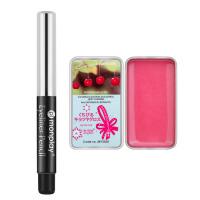 蒙芭拉(monplay)初学者彩妆两件套水果唇蔻8.5g+丝滑自动眼线笔0.5g两件套