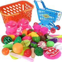 儿童水果蔬菜切切乐玩具宝宝过家家切果蔬厨房套装玩具