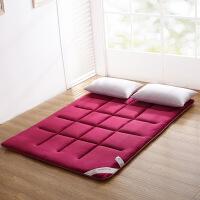 ???加厚法莱绒床垫床褥榻榻米垫被学生宿舍单人双人1.5m 1.8米