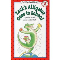 Zack's Alligator Goes to School鳄鱼扎克去上学 [4-8岁]