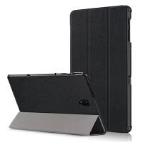 【尊选四件套】三星Galaxy TAB A 10.5英寸T590保护套T595C平板电脑 黑色【三星Tab A 10.