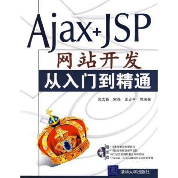 【二手旧书9成新】Ajax+JSP网站开发从入门到精通 梁文新,宋强,王占中 清华大学出版