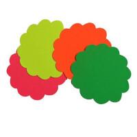 爆炸贴 POP中号大号 广告纸 促销活动 标价签价格牌 一包10张 荧光色彩色