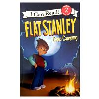英文原版 Flat Stanley Goes Camping [4-8岁]