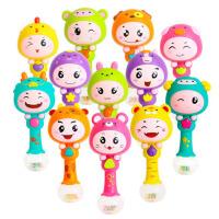 十二生肖节奏棒摇铃 宝宝音乐手摇铃/婴儿儿童玩具