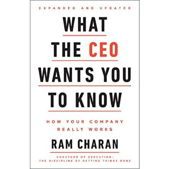 What The Ceo Wants You To Know 英文原版 CEO说:人人都应该像企业家一样思考