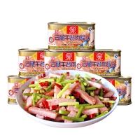 【限时秒杀】云腿午餐肉198g*8罐装 米线面条火锅方便面螺蛳粉配料
