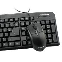 联想键盘鼠标KM4800台式机笔记本游戏USB有线键鼠套装