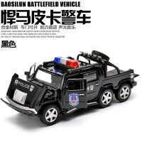 儿童玩具汽车合金警车玩具模型 小汽车车模回力合金车男孩玩具车
