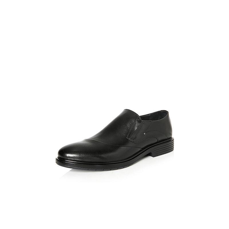 Belle/百丽2018春季新品专柜同款牛皮革男鞋5QE02AM8