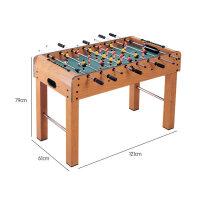 桌上足球�C5桌面6足球桌游�蚺_9�p人7桌游�和�玩具男孩4-10�q 抖音