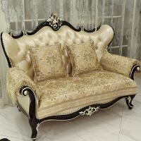 欧式沙发垫四季通用防滑布艺真皮组合沙发套沙发巾沙发坐垫