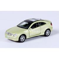 美驰图合金回力小车模型仿真奔驰精灵Smart车模六一儿童节玩具车