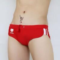 攀月星 新款男士三角泳裤 男泳裤 专业泳衣 时尚性感低腰速干泳裤