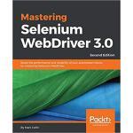【预订】Mastering Selenium WebDriver 3.0 9781788299671