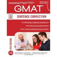 【现货】英文原版 GMAT句子改错策略指南,第6版 Sentence Correction GMAT Strategy
