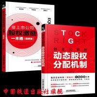 现货全两册 非上市公司股权激励一本通 图解版 + 创业公司的动态股权分配机制 股权分配机制方法原则