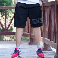 运动短裤男速干五分裤男加肥加大肥佬短裤宽松透气薄款沙滩裤新款