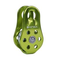 户外固定式运输登山单滑轮吊装滑轮横渡攀岩攀冰绳索滑索滑轮