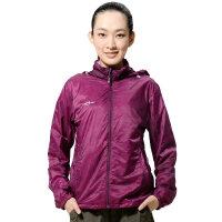 AIRTEX亚特户外皮肤风衣双层防晒服女士运动长袖夏分防紫外线透气