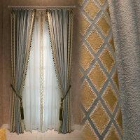 20180723185315113北欧窗帘高精密后现代简约客厅卧室时尚布艺窗帘 贝西莫 要几米拍几件