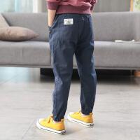 男童裤子春秋新款童装中大童运动裤儿童长裤