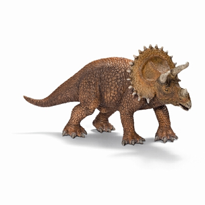 [当当自营]Schleich 思乐 恐龙系列 三角龙 S14522【当当自营】仿真塑胶模型 收藏玩具 高级动物模型公仔
