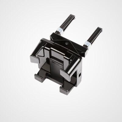 通用车载手机架出风口汽车仪表台导航架子粘贴无磁铁 ME71C_黑色