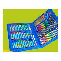 美术王国 儿童文具礼盒水彩笔 蜡笔画笔工具绘画大套装130件绘画套装 美术画画礼物