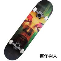 户外滑板 枫木四轮滑板 公路滑板男女双翘滑板