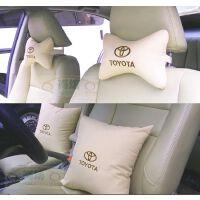 丰田RAV4卡罗拉凯美瑞锐志汉兰达 汽车改装全棉抱枕颈枕头枕腰靠