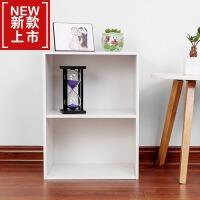 欧式加高简易书柜书架简约现代小木柜子储物柜自由组合收纳置物柜