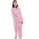 慈颜月子服外出哺乳衣加厚家居服冬季孕妇睡衣喂奶衣套装FJC5011